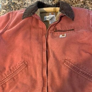Carhartt WJ097 Womans XL dungaree jacket
